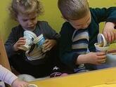 Dzieci w przedszkolu 332